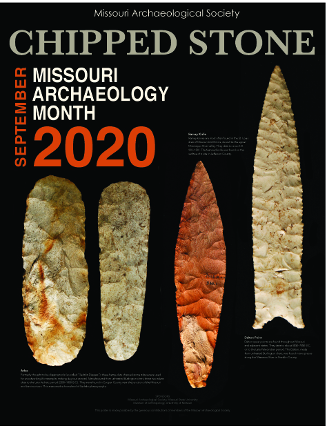 2019 Archaeology Month Poster